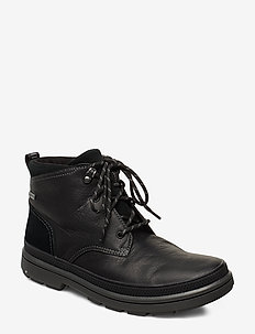 RushwayMid GTX - med snøre - blk tumbled lea