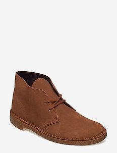 Desert Boot - desert boots - cola suede