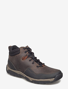 Walbeck Top II - veter schoenen - brown leather