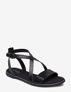Bay Rosie - flate sandaler - black interest