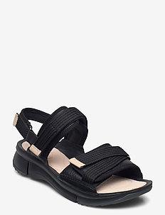 Tri Walk - matalat sandaalit - black combi