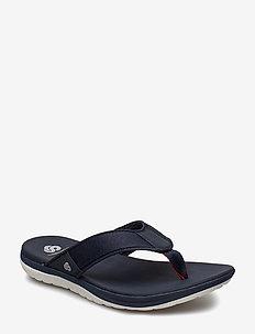 Step Beat Dune - flip flops - navy