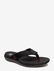 Step Beat Dune - flip flops - black