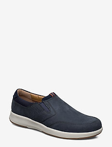 Un Trail Step - loafers - navy nubuck