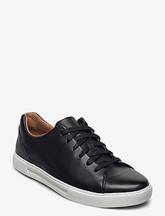 Un Costa Lace - low tops - black leather