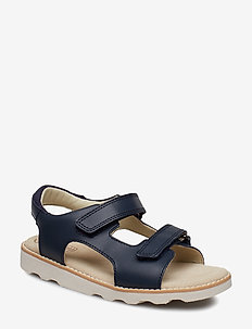Crown Root K - sandals - navy leather