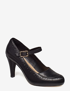 Dalia Millie - klassieke pumps - black leather