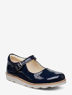 Crown Jump K - sandals - navy patent
