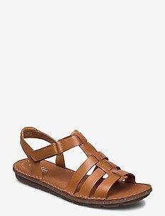 Blake Jewel - platte sandalen - tan