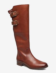 Netley Ride - langskaftede - tan leather