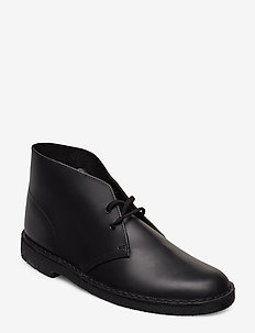 Desert Boot - BLACK LEATHER