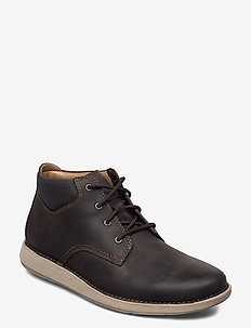 Un Larvik Top - nauhalliset - brown leather