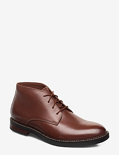 Paulson Mid - veter schoenen - mahogany leather