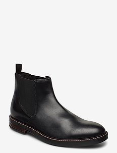 Paulson Up - chelsea boots - black leather