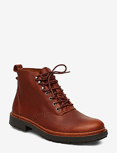 Trace Explore - veter schoenen - tan leather