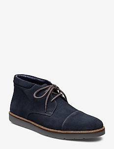 Grandin Top - NAVY SUEDE
