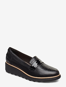 Sharon Gracie - loafers - black