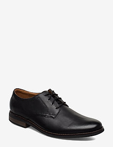 Becken Lace - chaussures lacées - black leather