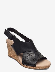 Lafley Joy - sleehakken - black leather