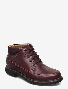 Un Tread OnGTX - nauhalliset - dark brown lea