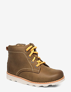 Crown Hike T - stövlar & kängor - tan leather