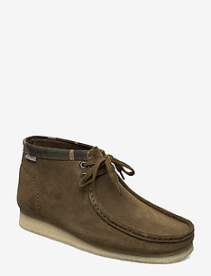 Wallabee Boot - OLIVE CAMO
