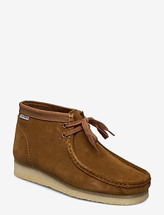 Wallabee Boot - BROWN COMBI SDE