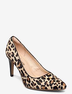 Laina Rae - klassiska pumps - leopard print