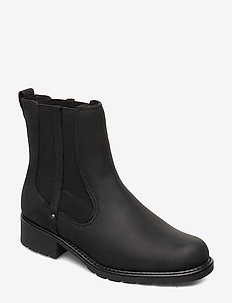 Orinoco Hot - chelsea boots - black nubuck