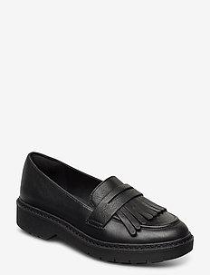 Witcombe Dawn - mokasiner - black leather