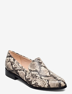 Bizzy Dawn - loafers - taupe snake