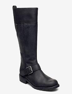 Orinoco Hi GTX - lange stiefel - black leather