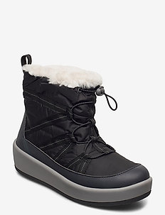 Step North Hi - flat ankle boots - black