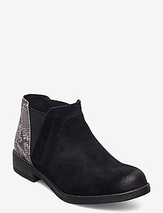 Demi Beat - chelsea boots - black comb snake