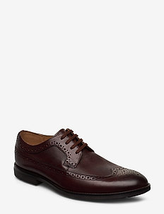 Ronnie Limit - brogues - dark tan lea