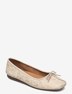 Freckle Ice - ballerinas - off white
