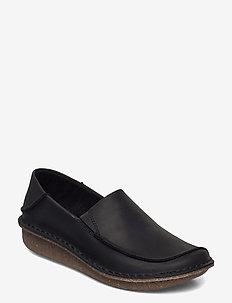Funny Go - mocassins - black leather