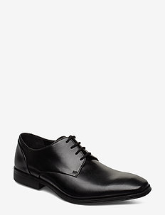 Gilman Plain - buty sznurowane - black leather