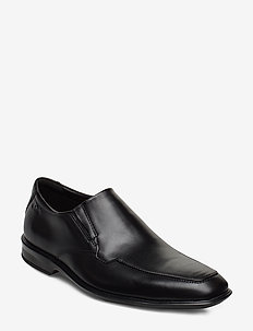 Bensley Step - loafers - black leather