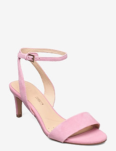 Amali Jewel - heeled sandals - pink suede