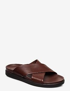 Sunder Cross - sandaler - british tan lea