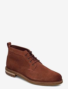 Foxwell Mid - desert boots - british tan