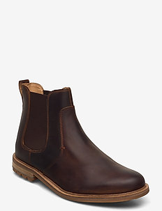 Foxwell Top - chelsea boots - beeswax leather