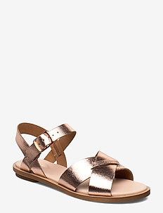 Willow Gild - flade sandaler - rose gold