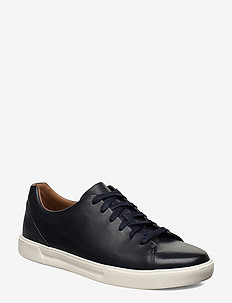 Un Costa Lace - baskets basses - navy leather