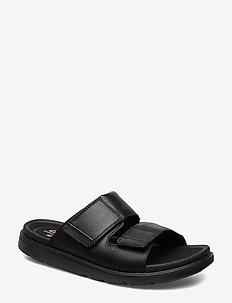 UnWilmore Part - pool sliders - black leather