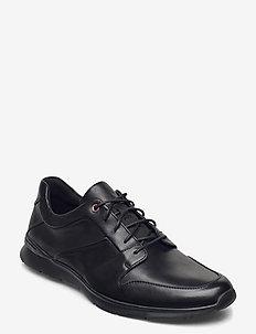 Un Tynamo Flow - chaussures lacées - black leather