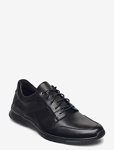 Un Tynamo Flow - nauhakengät - black leather