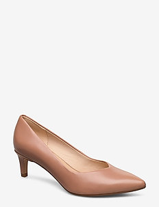 Laina55 Court - klassieke pumps - praline leather