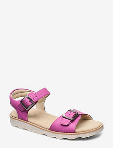 Crown Bloom K - sandals - hot pink leather